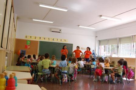 Imagen final de curso escuela de verano El Puig. Foto: EPDA