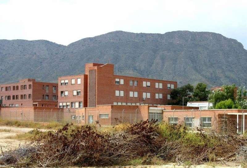 Vista parcial de la prisión de Fontcalent, en Alicante. - EFE