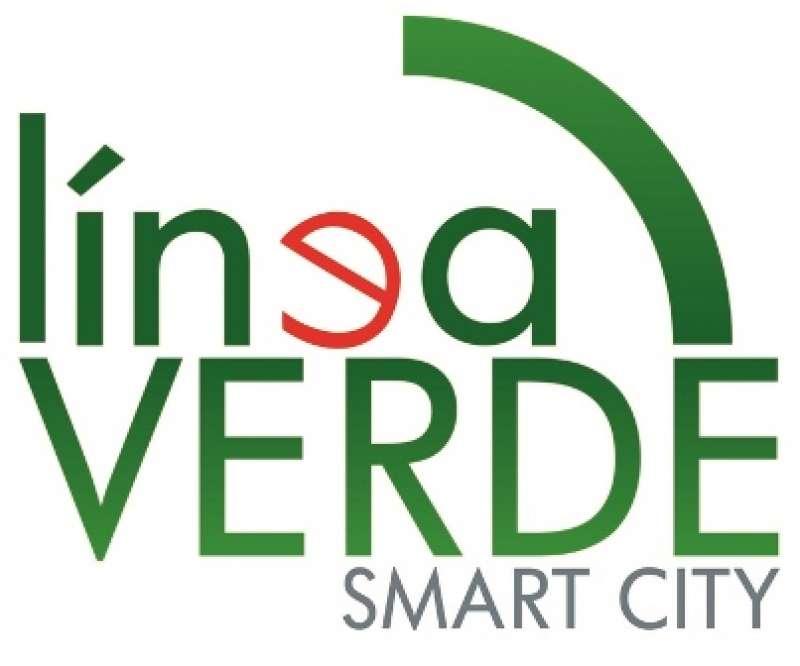 Logo de la línea verda. EPDA