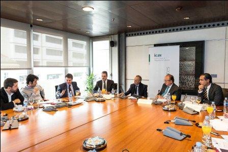 Imagen del Desayuno celebrado por el ICAV. EPDA