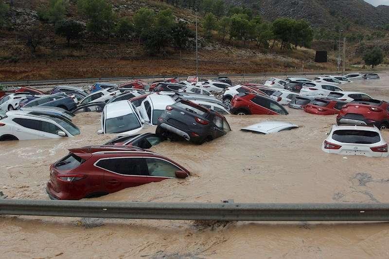 Imagen de archivo de algunos de los efectos de la DANA el pasado mes de septiembre en Orihuela. EFE/ Morell/Archivo