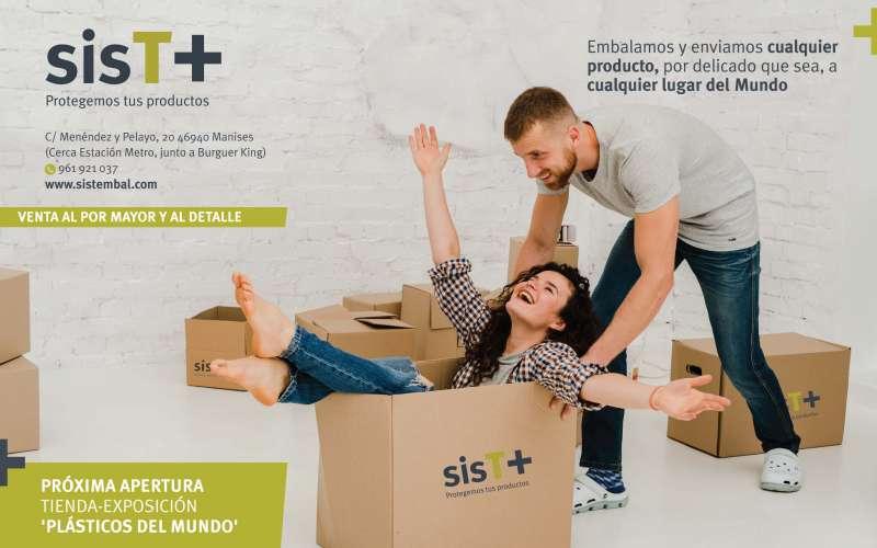Campaña publicitaria de Sistemas de Embalajes S.L. EPDA