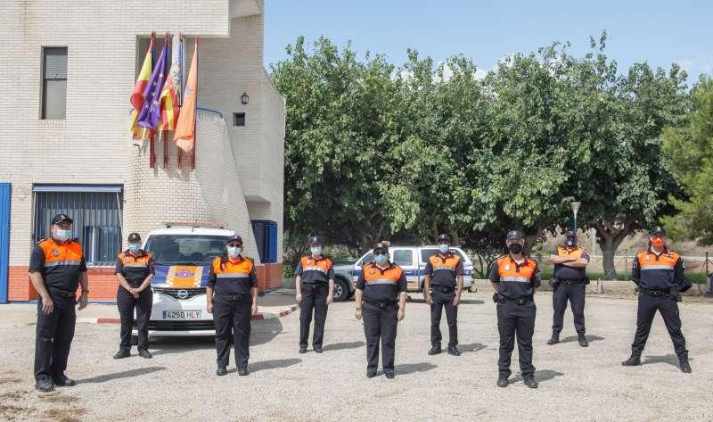 Protecció civil Almussafes./EPDA