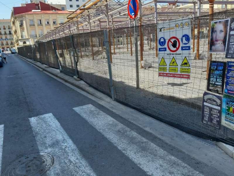 Obras del Mercado del Grao de València. EPDA