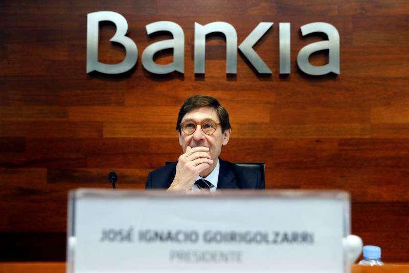 El presidente de Bankia, José Ignacio Goirigolzarri, en una fotografía de archivo. EFE/Archivo