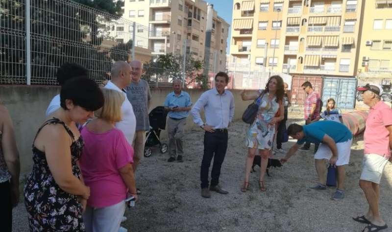 Inauguración de un parque para perros en Burjassot. EPDA