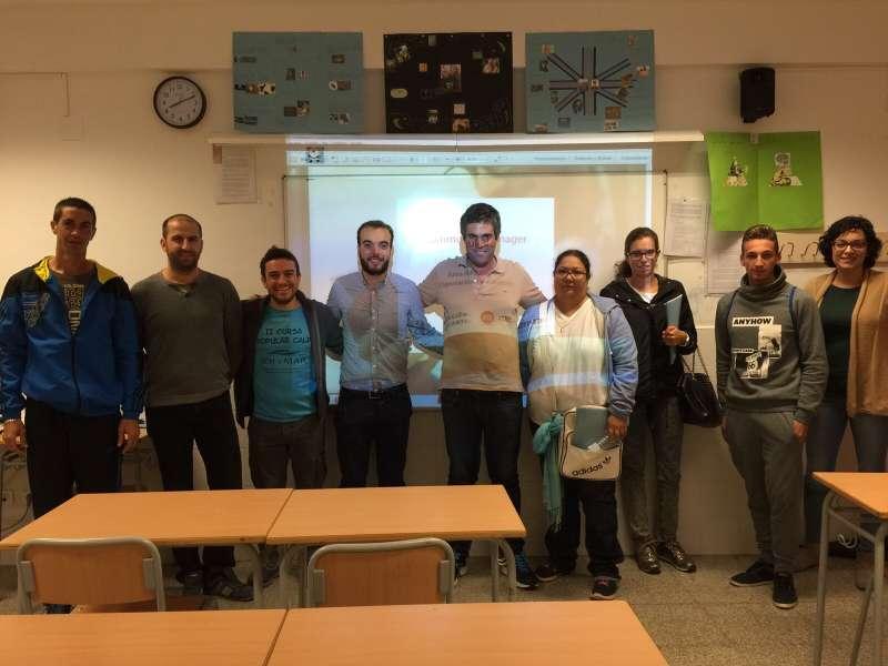 Los participantes en el curso de Community Manager