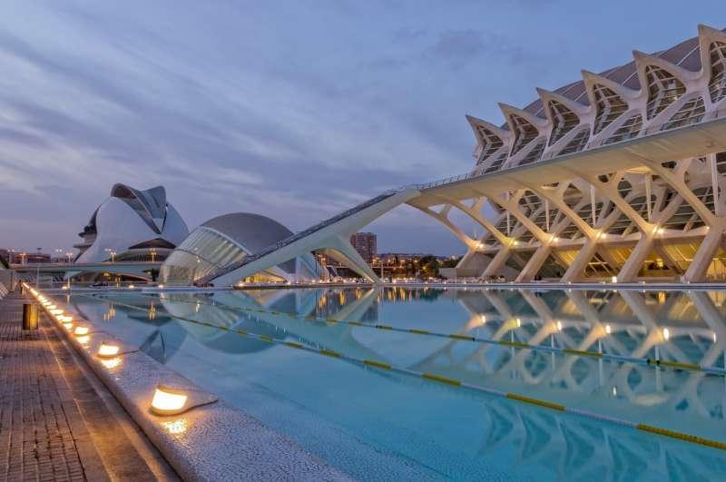 La Ciudad de las Artes y las Ciencias, uno de los emblemas de la capital valenciana. FOTO PIXABAY
