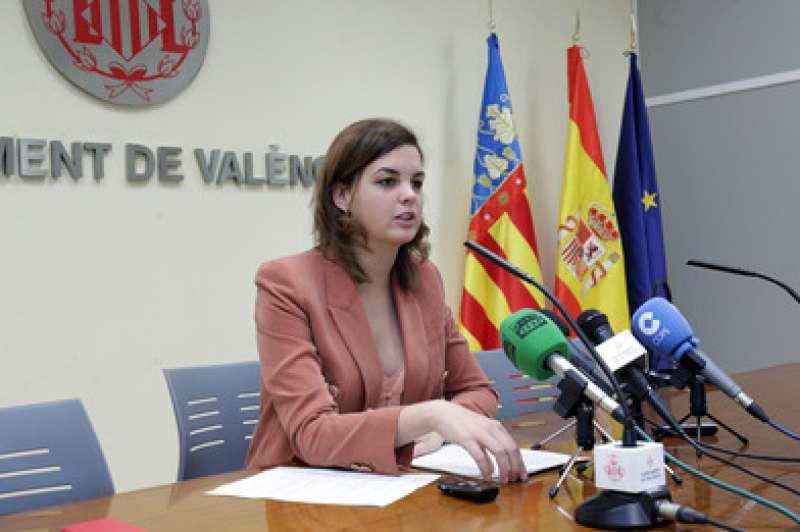 Sandra Gómez informa sobre la Junta de Govern Local. epda