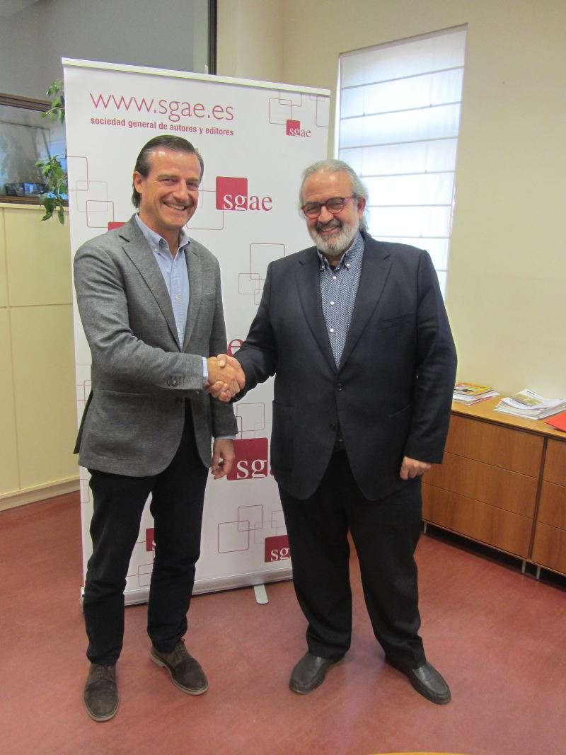 La Sociedad General de Autores y Editores (SGAE) y la Federación de Sociedades Musicales de la Comunidad Valenciana (FSMCV) han suscrito un convenio. EPDA