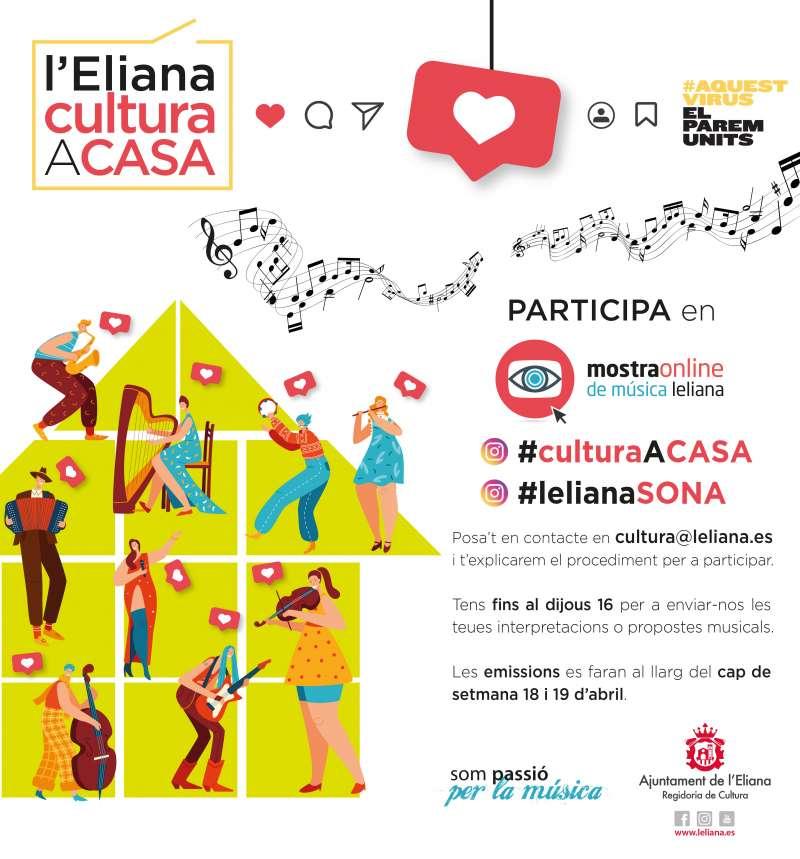 Cartel anunciador de la campaña cultural. / EPDA