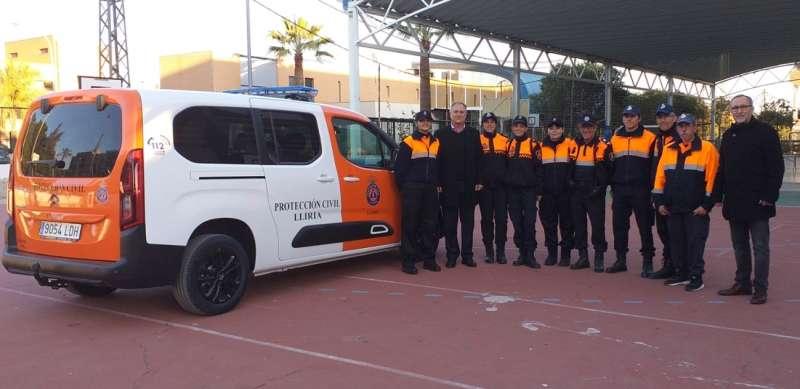 Presentación efectivos de Protección Civil. / EPDA