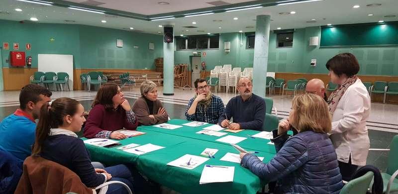 Reunió amb entitats de la Pobla de Vallbona.