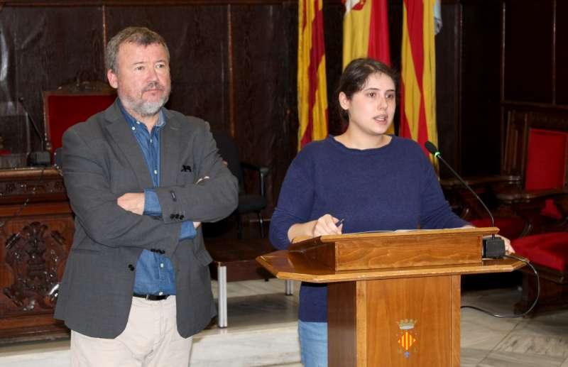 Quico Fernández y Roser Maestro.
