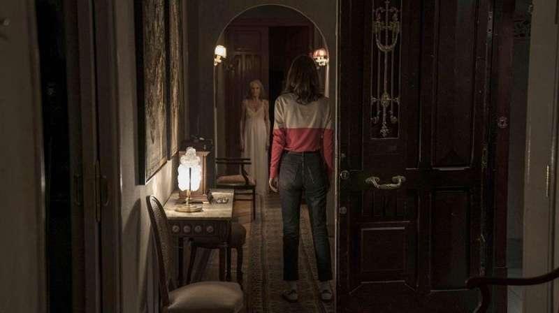 Momento de la grabación, en una imagen difundida por la productora de la cinta