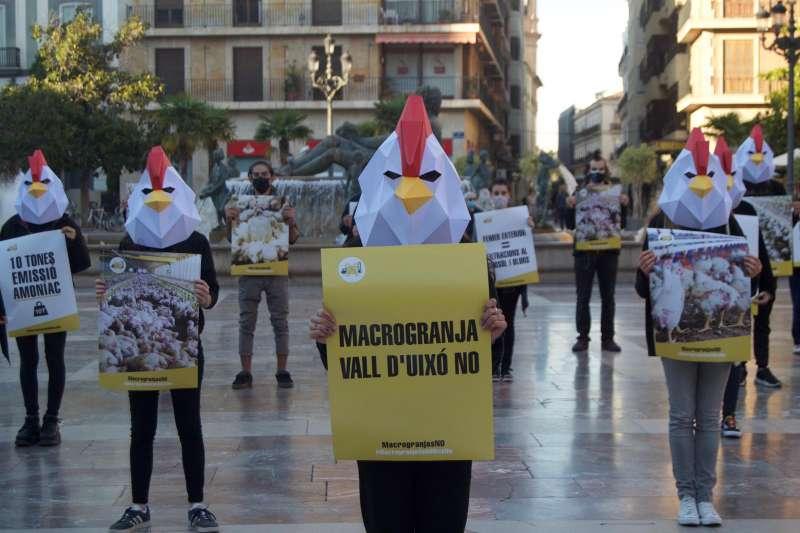 Protesta ecologista en València. EPDA