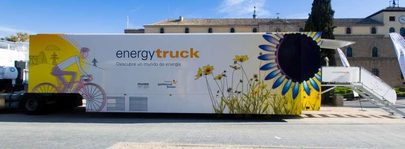 El Energytruck en su parada de Alicante