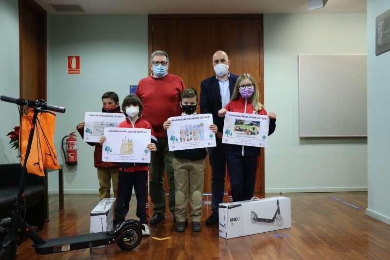 Ganadores del concurso infantil de dibujo