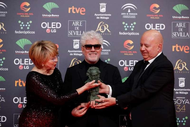 Un momento de la gala de entrega de los Premios Goya 2020 del año pasado.EFE/Archivo