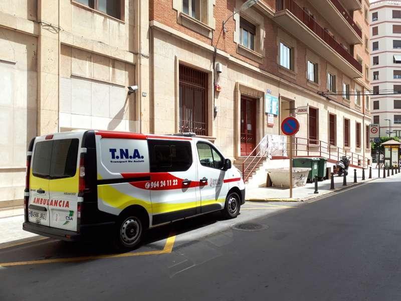 Ambulancia, servicio de atención médico de la Comunitat. -EPDA