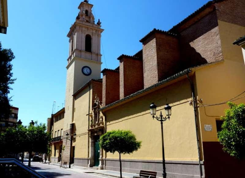 La parroquia San Jaime de Moncada. EPDA