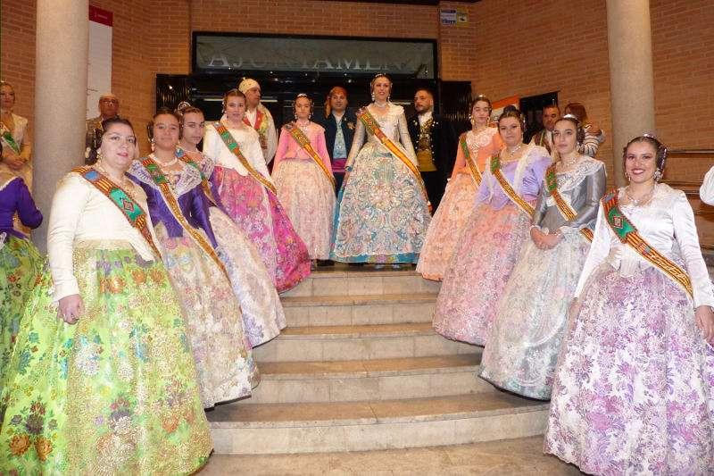 Falleras Mayores de Albal. EPDA