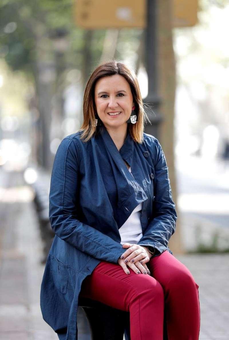 María José Catalá, candidata popular a la alcaldía de València. EFE