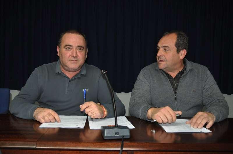 El alcalde de Sant Joan de Moró, Vicente Pallarés, y el teniente de alcalde, Julián Torner/EPDA