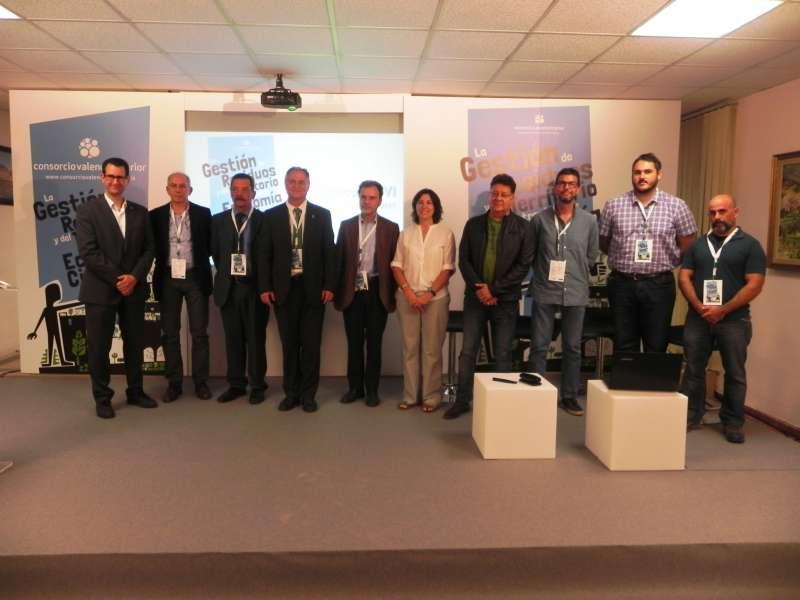 Representantes en la jornada del CVI. FOTO EPDA
