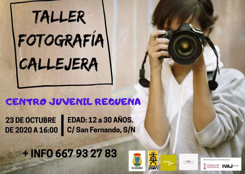 Cartel taller fotos