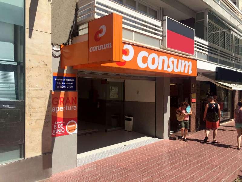 Nuevo supermercado, el quinto en el municipio alicantino de Benidorm.