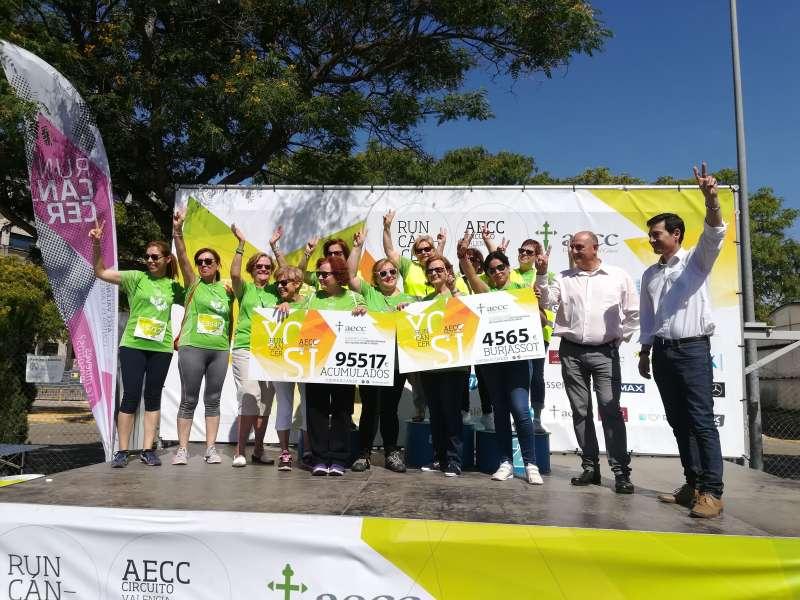 Recaudación de la carrera solidaria en Burjassot. EPDA