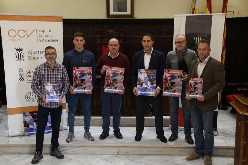 Presentación del Campeonato de España de Grappling en el salón de plenos de Sagunt. EPDA