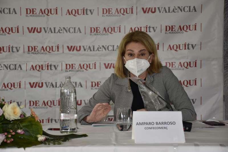 Amparo Barroso, Secretaria General de Confecomerç. / Plácido González
