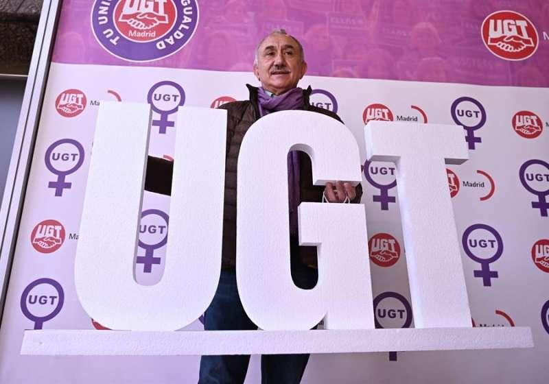 El secretario general de UGT, Pepe Álvarez. EFE