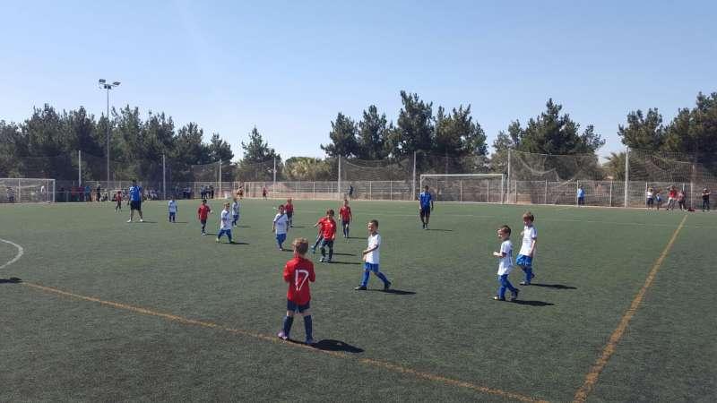 Este fin de semana empieza la Liga de Fútbol 8 Querubín del Camp de Túria
