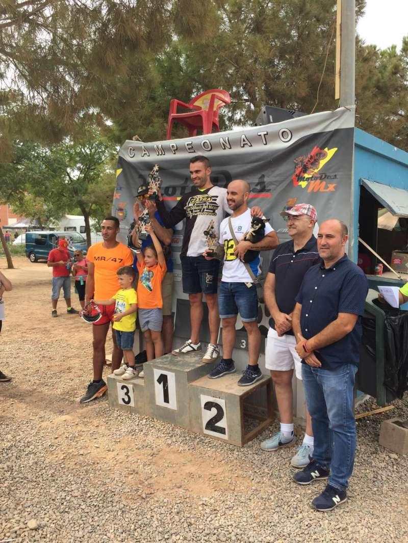 Podium del campeonato en Massamagrell. EPDA