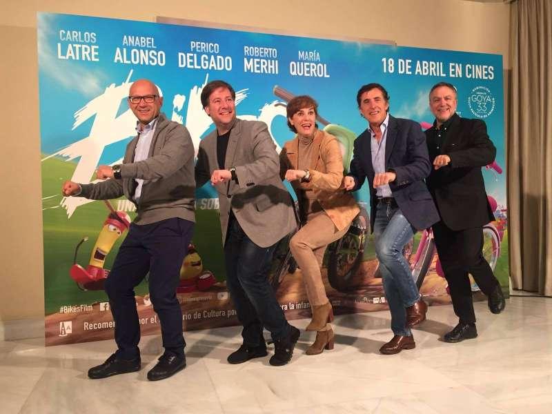 García, Latre, Alonso, Delgado y Pérez