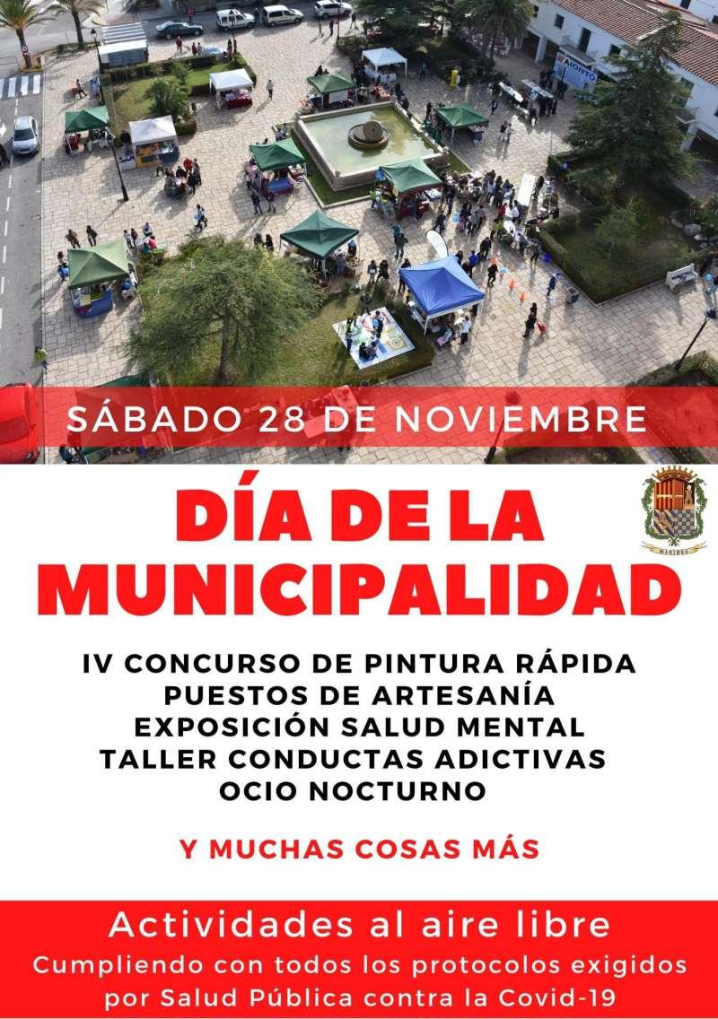 Cartel día de la Municipalidad. / EPDA