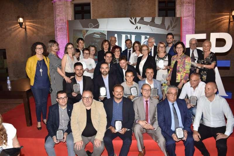 Premiados en la IV Gala Periódico de Aquí Horta Sud