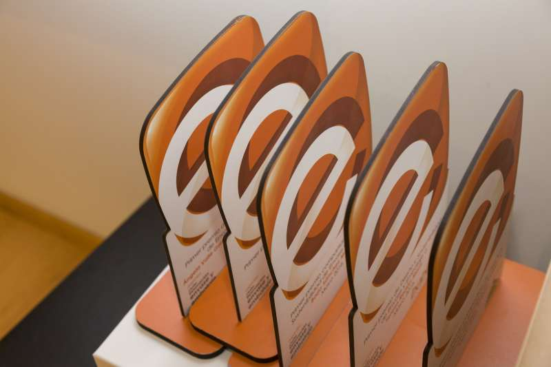 Detalle de los premios de diseño y sostenibilidad de envase