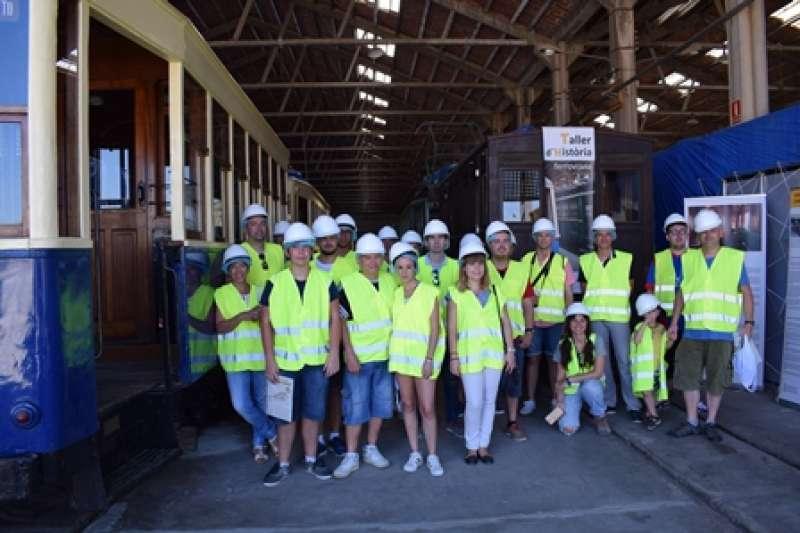 Visita a las instalaciones de Torrent. EPDA
