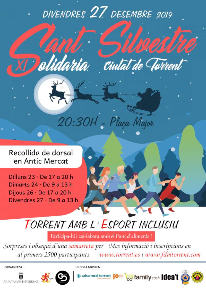 Cartel San Silvestre 2019 Torrent.- EPDA