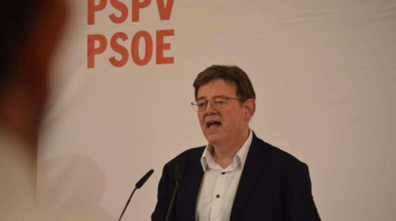 Ximo Puig. FOTO PSPVPSOE.NET