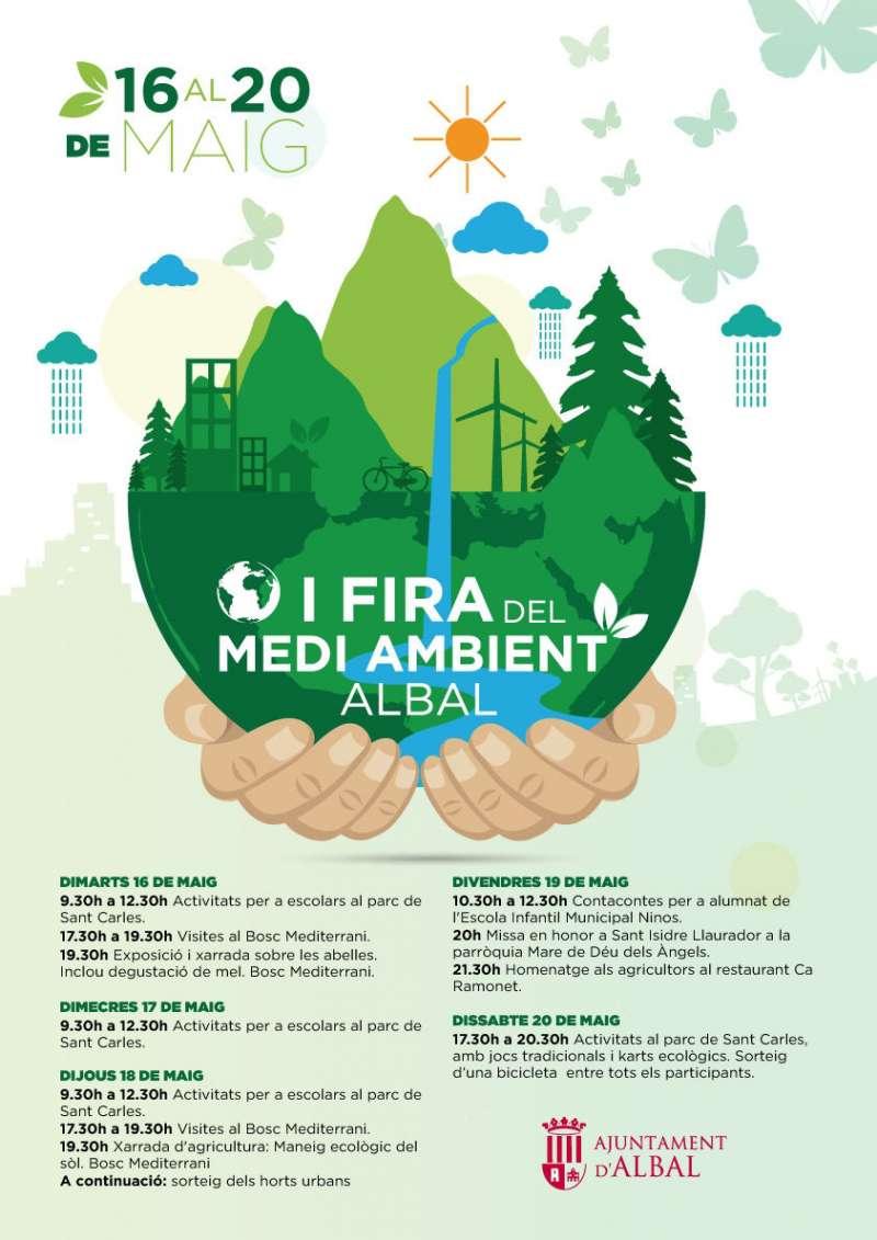 Cartell de la I Fira del Medi Ambient d