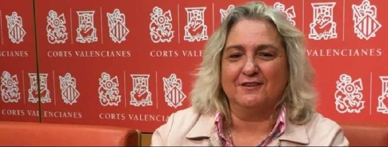 La portavoz de Justicia del PPCV en Les Corts, María José Ferrer San-Segundo.