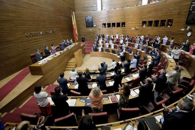 Pleno de Les Corts. EFE/ Juan Carlos Cárdenas/Archivo