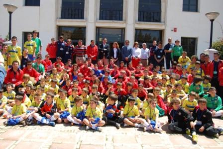 Algunos de los niños participantes. FOTO: EPDA
