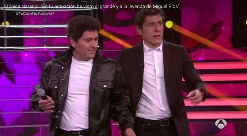 Tomás Martínez, de Picanya, al programa de televisió. EPDA