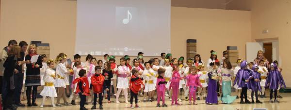 Actuación de los niños. EPDA